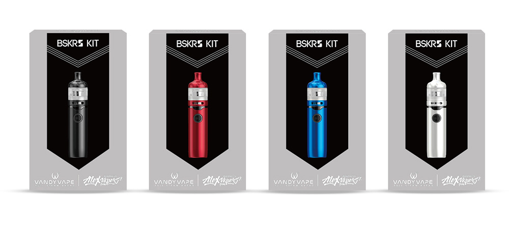 Vandy Vape Berserker S Kit package