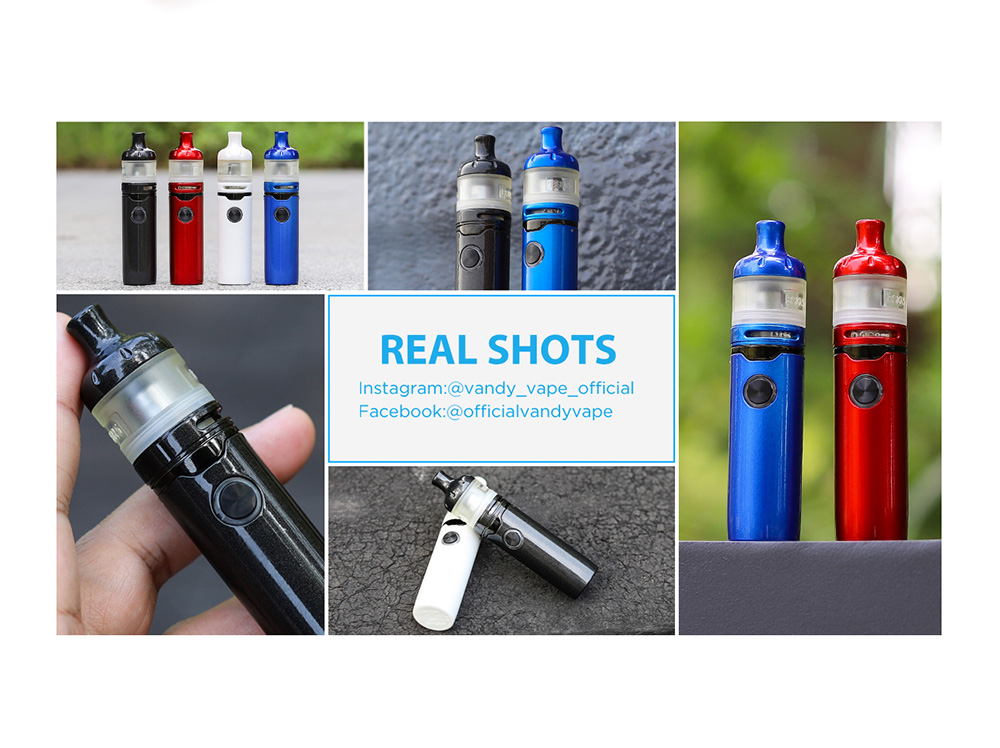 Vandy Vape Berserker S Kit real shots