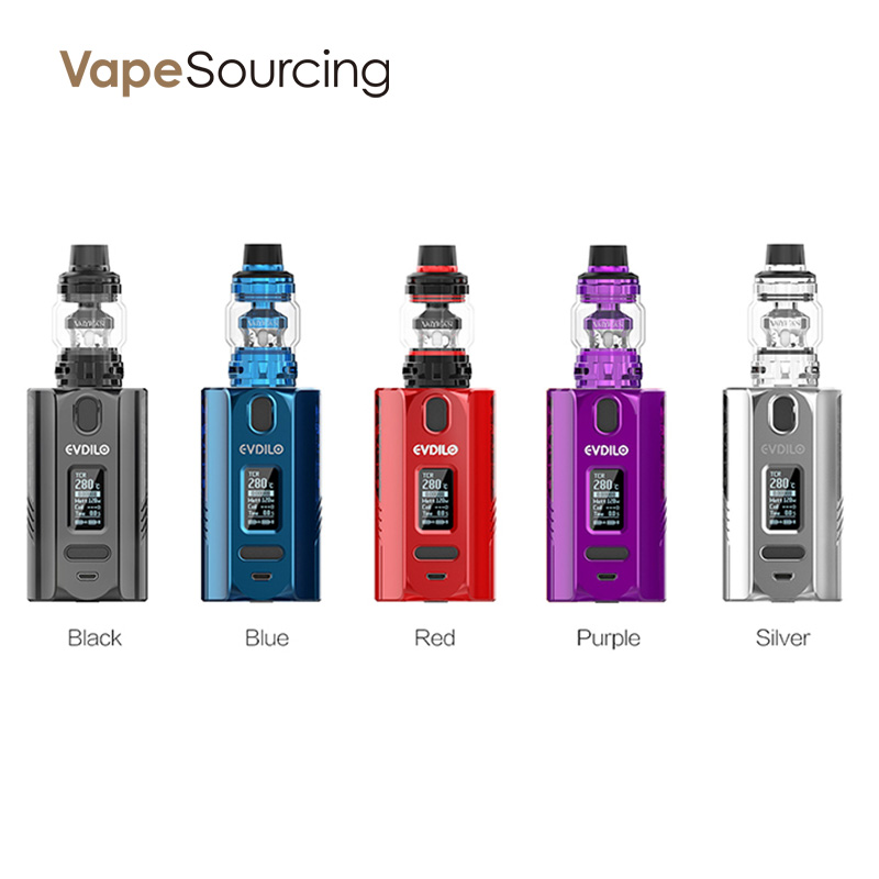 Uwell Evdilo Box Mod Kit all colors
