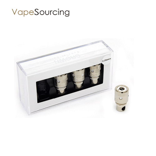 Uwelll crown coils in vapesourcing