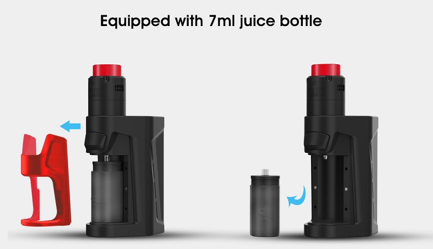 Vandy Vape Pulse Dual with large capacity